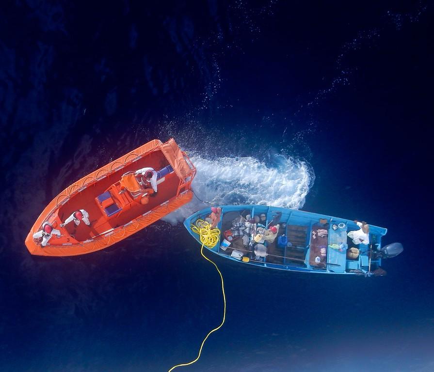 Rescue At Sea off the coast of Mazatlan, Mexico