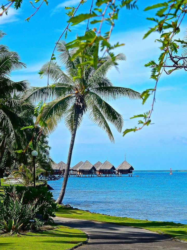 Overwater Motus, Papeete, Tahiti