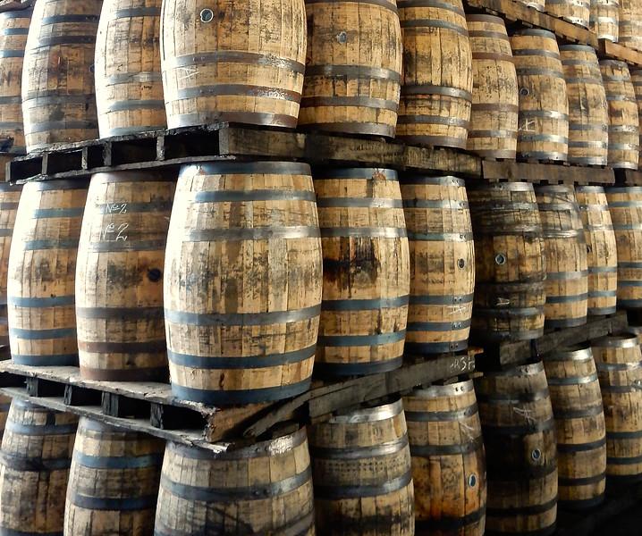 Rum Barrels, Flor de Cana Rum Factory, Nicaragua