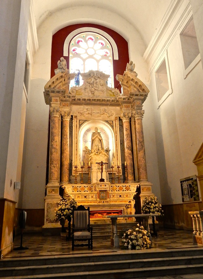 Altar, Peter Claver Church, Cartagena