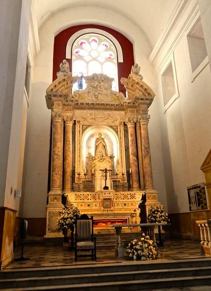 Altar, Peter Claver Church, Cartagena
