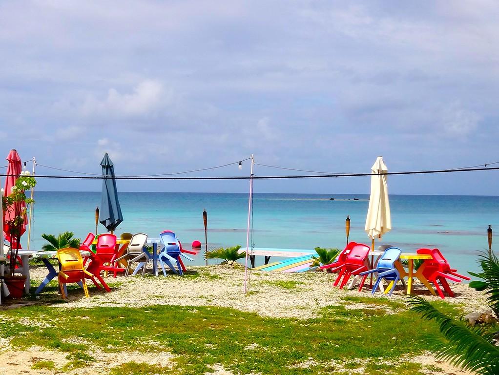 Waterfront Cafe, Fakarava Atoll, French Polynesia