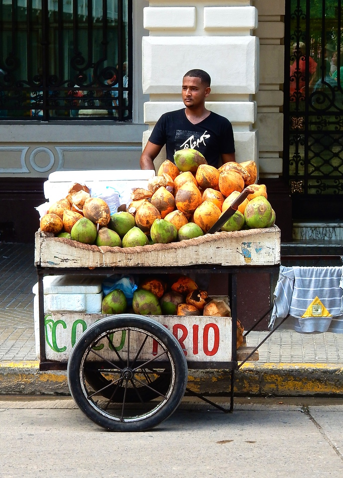Cartagena Fruit Seller