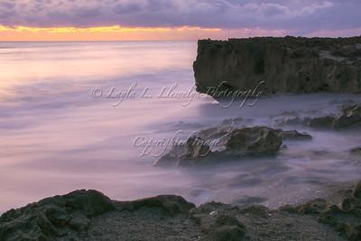 Sunrise on the Rocks 2