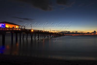 Dawn at Dania Beach