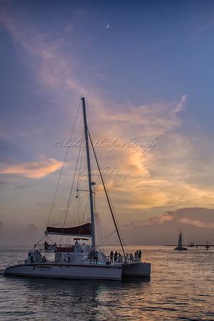 Blue Hour Sail