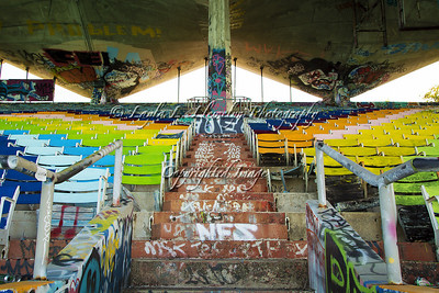 Day 112 A rainbow of colors (Miami Marine Stadium)