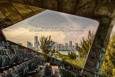 Urban Decay; Urban Life. Miami: View from the Marine Stadium