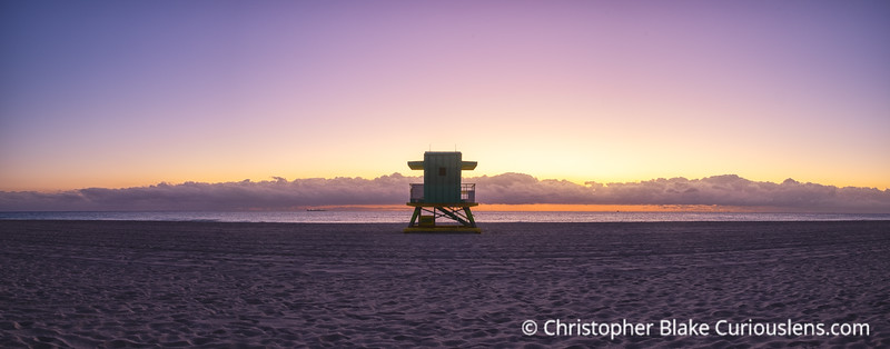 Life Guard Station Pano