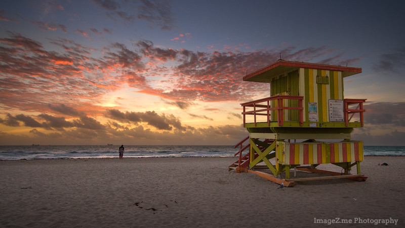 Morning in Miami South Beach