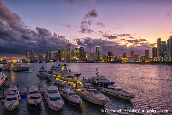 Miami City Sunset 2
