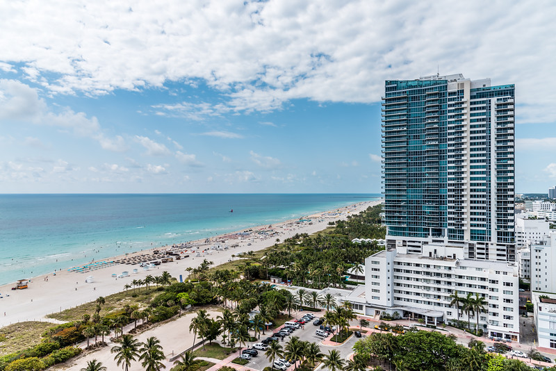 View of Miami South Beach from W South Beach
