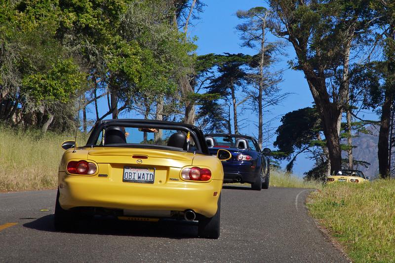 On The Way To Morro Rock, Morro Bay, CA.