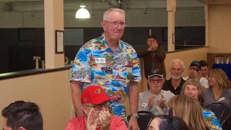 2019 Events Coordinator volunteer, Ed Grant.