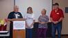 Outgoing 2018 SDMC Board of Directors (L-R): President David Bryan, Vice-President Laurie Waid, Secretary Linda  Doud, Treasurer Dennis Sullivan