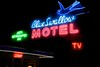 Our fourth night out was spent at the famous Blue Swallow Motel in Tucumcari, NM.