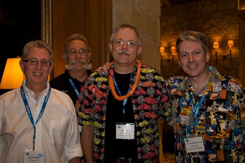 Miata.net moderators in attendance (L-R):  Gary Fischman, Dave Sherman, Mark Booth, Gordon Choate.