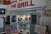 And the 50s themed Grill on the other side.  They are famous for their Onion Burgers but I couldn't resist the Chicken & Dumplings on the menu.  Delicious!