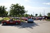 This is the Marshaling area where most of the driving events begin for Miata World II.  The next two photos were taken about 9:30am on Friday as two different groups prepared to start their fun.