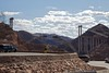 We stopped in Las Vegas on our way home and crossed Hoover Dam to get there.  But, to me, more impressive than the dam, is this bridge under construction for the bypass road they are building to divert traffic away from the Hoover Dam.