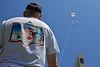 SDMC member Rick Spurgeon flying his custom San Diego Miata Club kite.