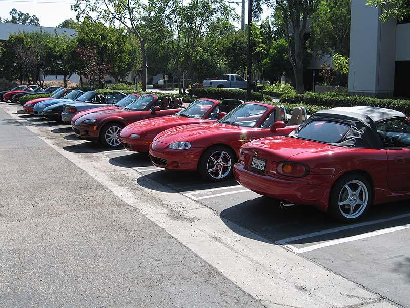 SDMC had front row parking.