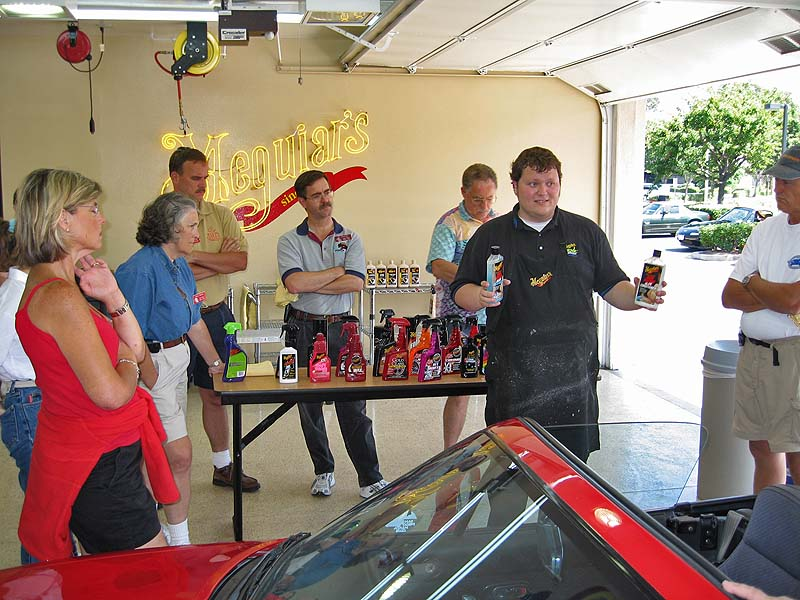 Tim talked about the various products Meguiar's offers for proper interior and trim care.