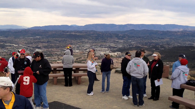 Video!  A 360-degree view of San Diego County from the top of Double Peak Park.