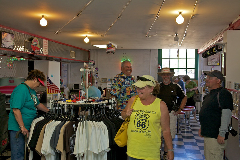 Day 12: There are dozens of gift shops along Route 66.  The one at the Powerhouse Visitor Center offered some unique items we hadn't seen anywhere else.