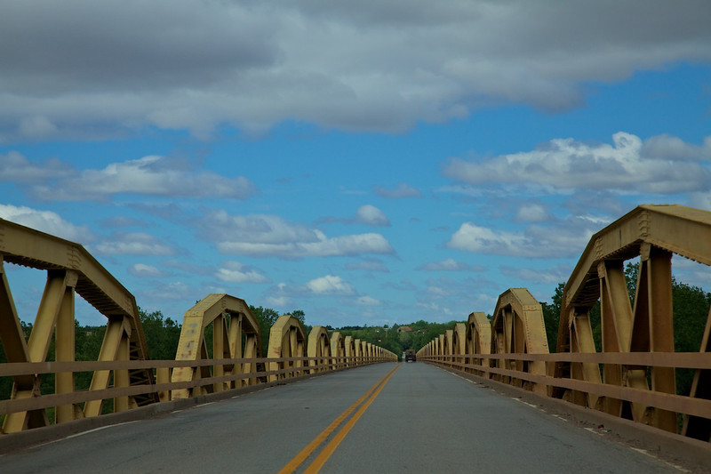 Day 7: The Pony Truss Bridge has 38 trusses and spans 3,944 feet across the South Canadian River.