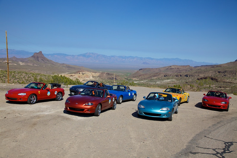Day 12: At Sitgreaves Pass between Cool Springs Camp and Oatman, AZ.