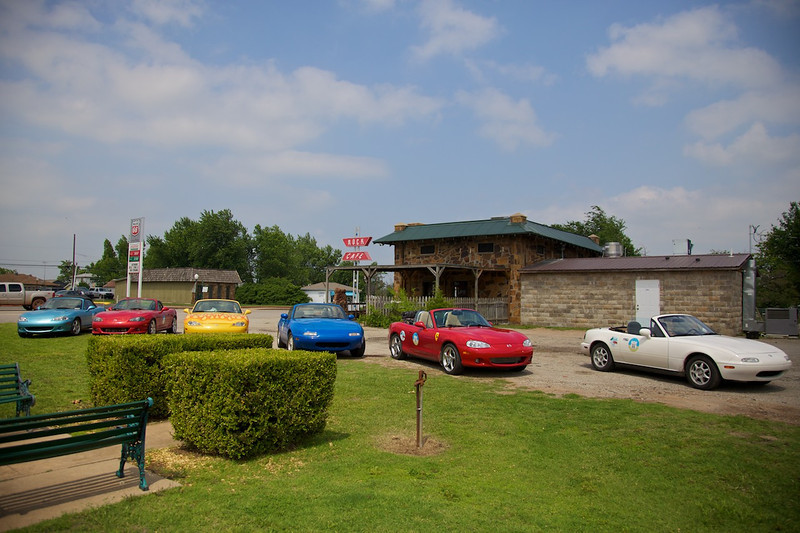 Day 6: The famous Rock Cafe in Stroud, OK.  Yet another restaurant that has been featured on 'Diners, Drive-ins and Dives.'