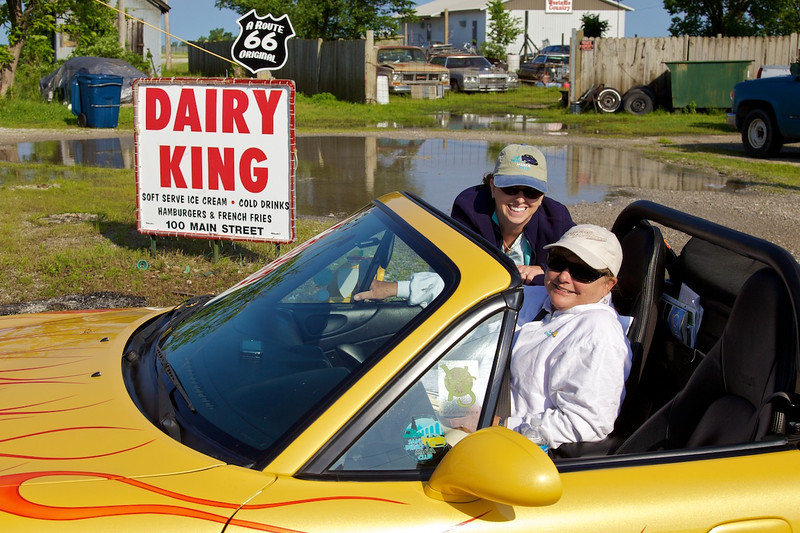 Day 6: The Dairy King in Commerce, OK.