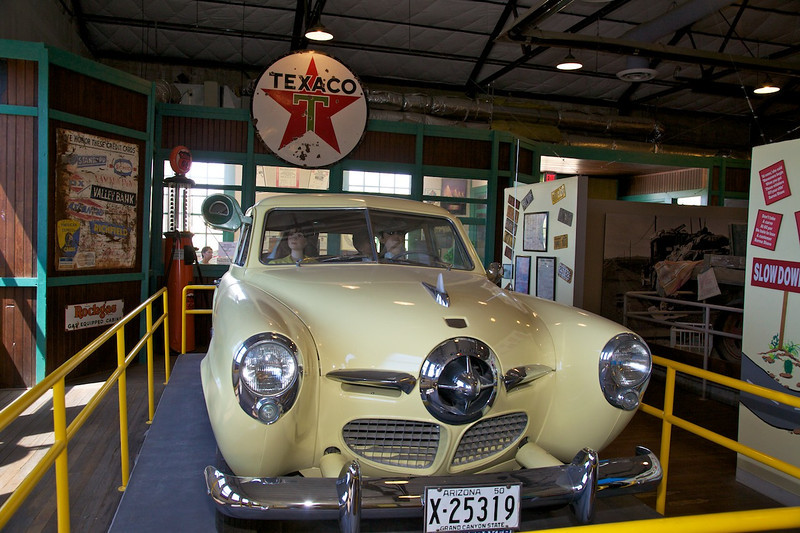 Day 12: At the Powerhouse Visitor Center in Kingman, AZ.