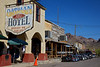 Day 12: Beautiful downtown Oatman, AZ.  The Oatman Hotel is where Clark Gable and Carole Lombard honeymooned.