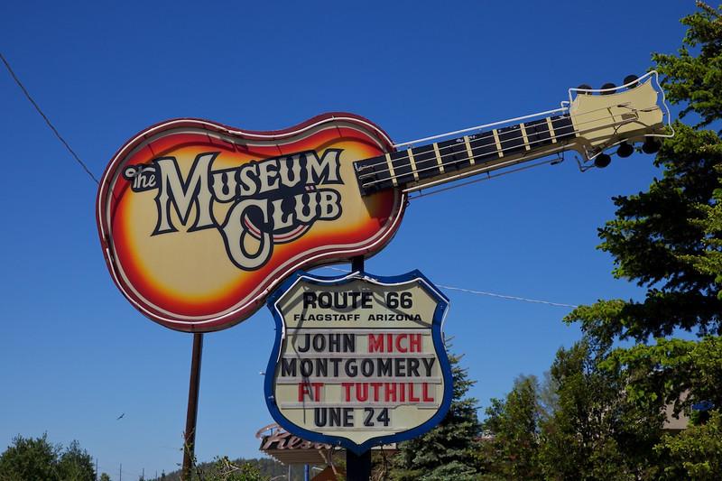 Day 11: The Museum Club in Flagstaff, AZ.