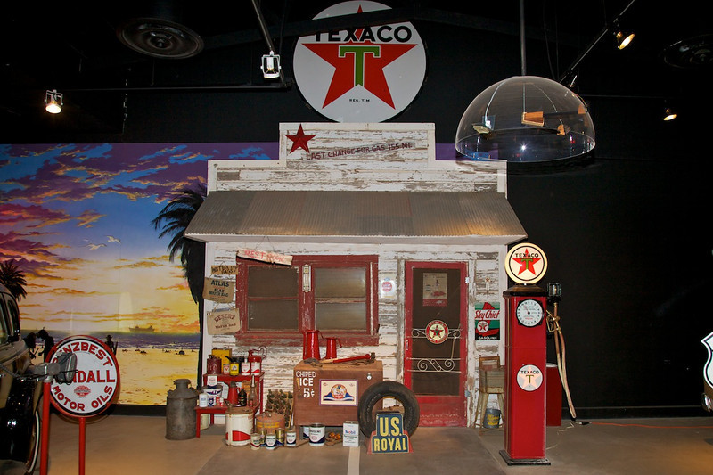 Day 7: At the National Route 66 Museum in Elk City, OK.