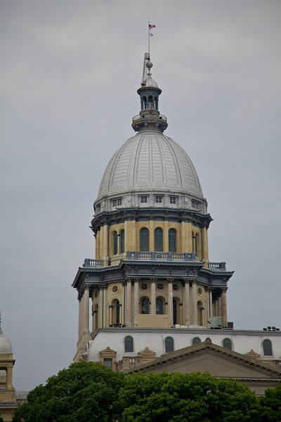 Day 2: The old capital building in Springfield, IL.