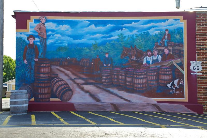 Day 4: More murals around Cuba, MO.