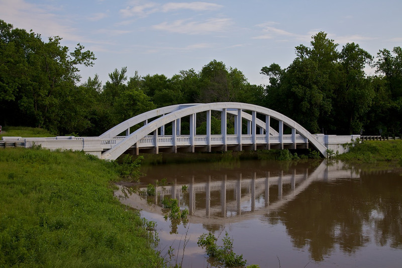 Day 6: The Rainbow Bridge is the last remaining Marsh Arch Bridge on Route 66.