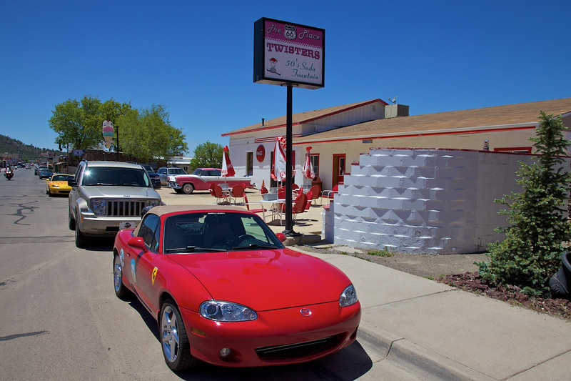 Day 11: Lunch was at Twisters in Williams, AZ.