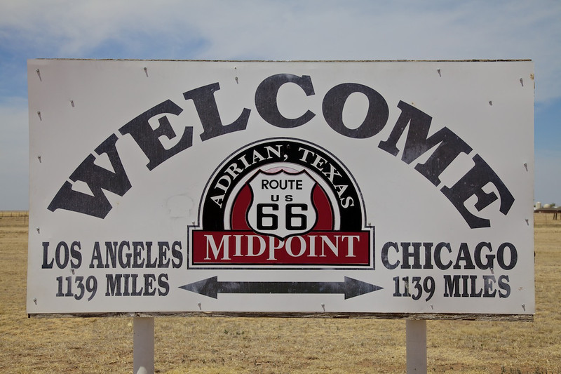 Day 8: Adrian is the official midpoint on The Mother Road.