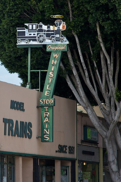 Day 14: Whistle Stop Trains model train store in Pasadena, CA.