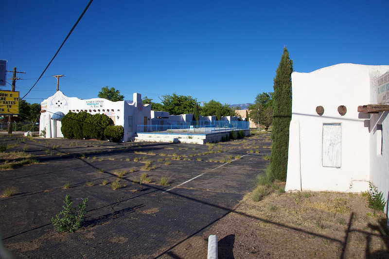 Day 9: The El Vado Motel in Albuquerque, NM.  It was scheduled for demolition but the city stepped in to save the historic motel in 2008.