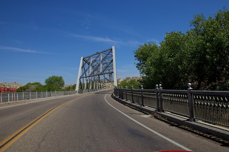 Day 13: Another cool bridge just outside of Victorville, CA.