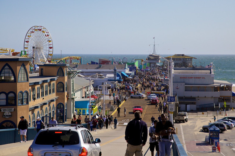 Day 14: There's lots to see and do at the Santa Monica Pier!
