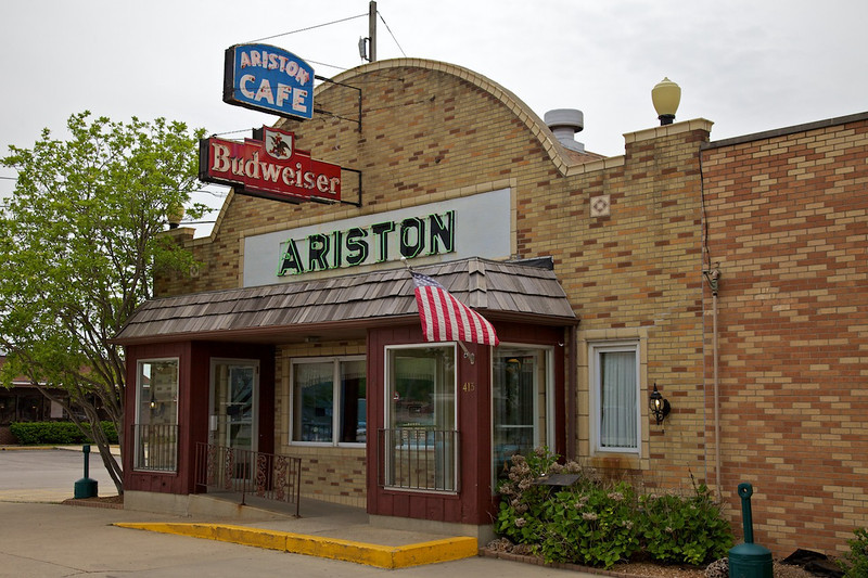 Day 2: The famous Ariston Cafe in Litchfield, IL.