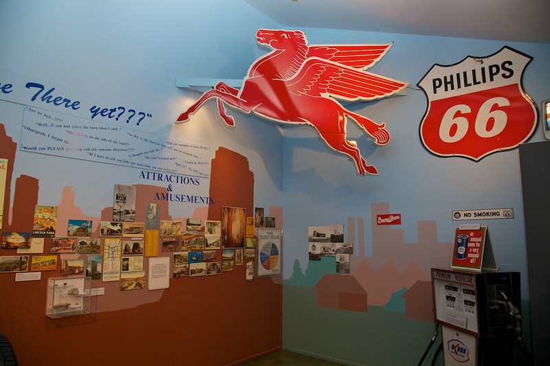Day 7: At the Route 66 Museum in Clinton, OK.