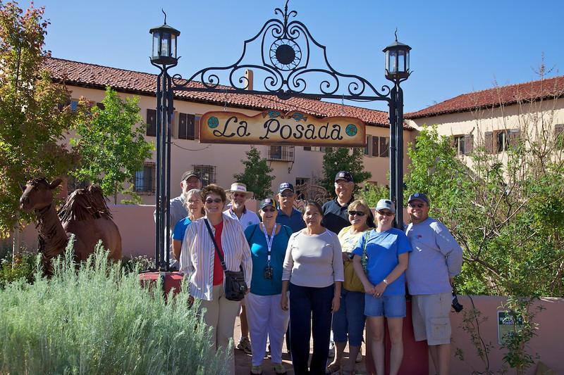 Day 11: At the La Posada Hotel in Winslow, AZ.