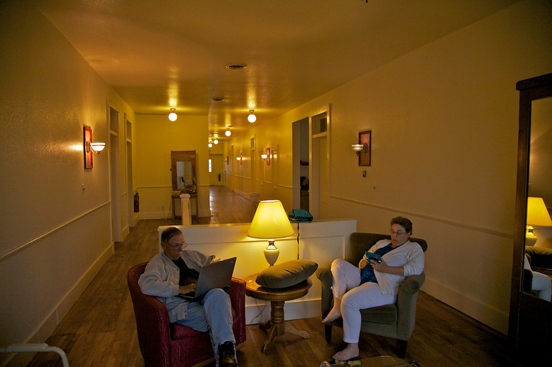 Day 5: The Little Brick Inn, our overnight stop in Baxster Springs, KS.